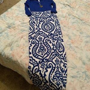 Pink Blush Maternity Dress NWT